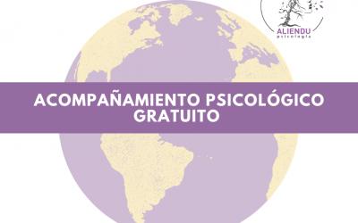 Acompañamiento Psicológico para la crisis del conoravirus.